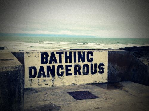 Bathing Dangerous Dumpr